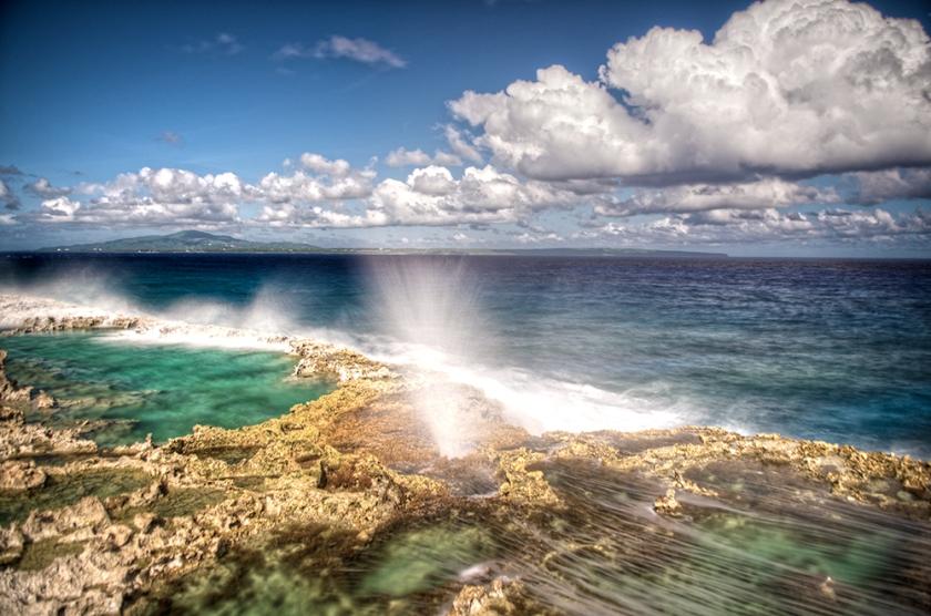 Tinian Blow Hole, Northern Mariana Islands